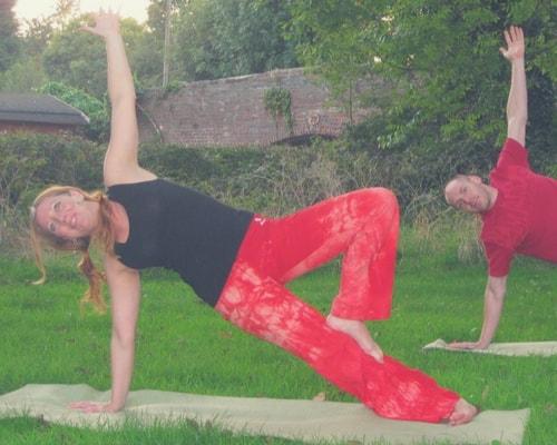 Julie Hemmings at Divine Works Yoga