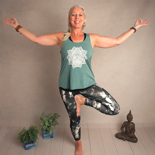 Julie Hemmings at Divine Works Yoga